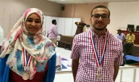 Students won the 1st Place